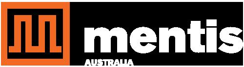Mentis Australia - White Wordiing 500x138